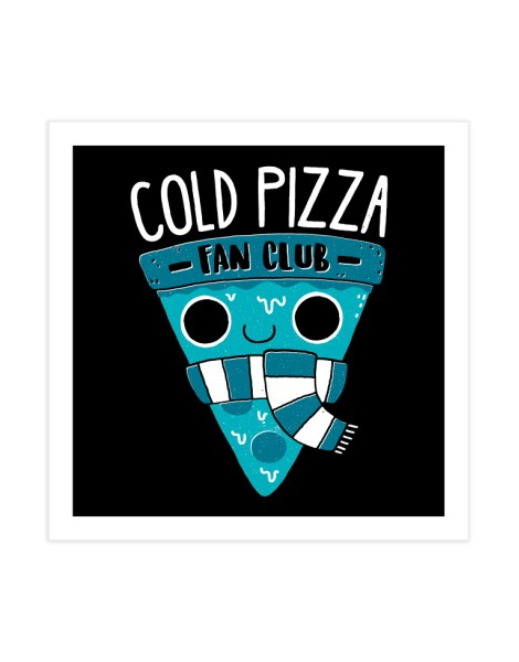 Cold Pizza Fan Club Hero Shot