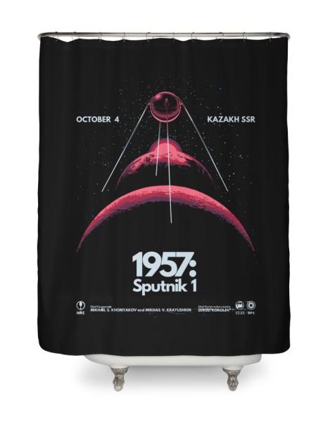 1957: Sputnik 1 (Black Variant) Hero Shot