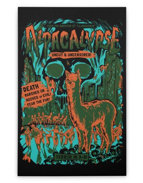 Alpacalypse! (Black Variant) Hero Shot
