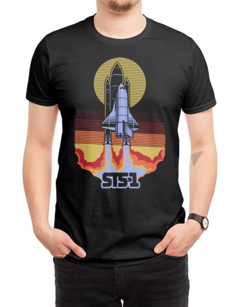 STS-1 (Black Variant) Hero Shot