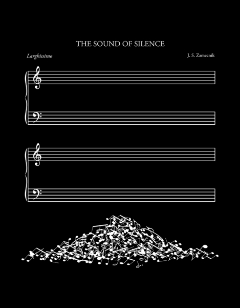 The Sound of Silence (Black Variant) Hero Shot