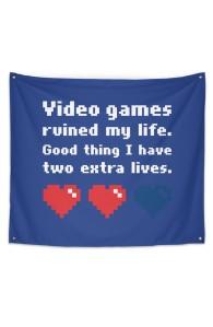 Video Games Ruined My Life Hero Shot