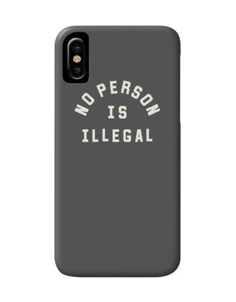 No Person Is Illegal Hero Shot