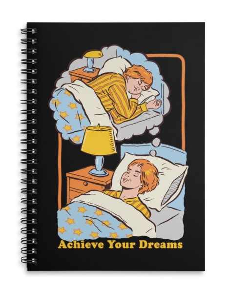 Achieve Your Dreams (Black Variant) Hero Shot