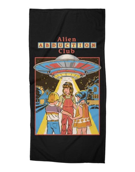 Alien Abduction Club (Black Variant) Hero Shot