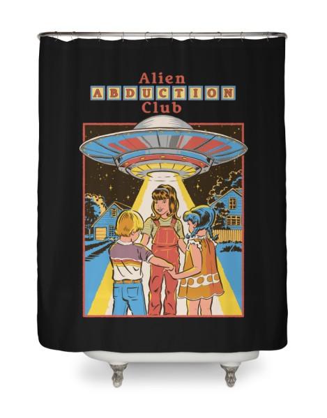 Alien Abduction Club (Black Variant) Hero Shot