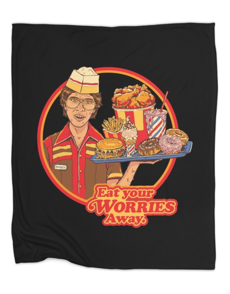 Eat Your Worries (Black Variant) Hero Shot