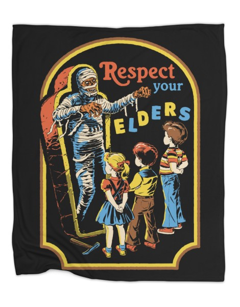 Respect Your Elders (Black Variant) Hero Shot