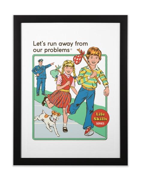 Let's Run Away (White Variant) Hero Shot