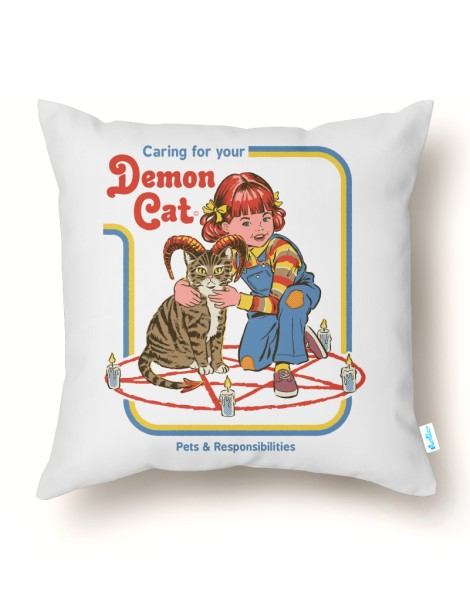 Caring for Your Demon Cat (White Variant) Hero Shot