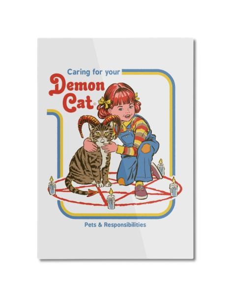 Caring for Your Demon Cat (White Variant) Hero Shot