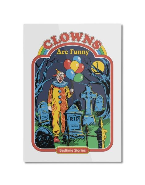 Clowns Are Funny (White Variant) Hero Shot