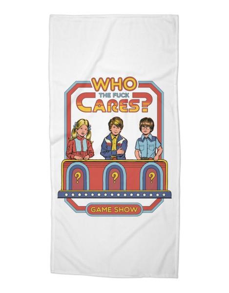 Who Cares? (White Variant) Hero Shot