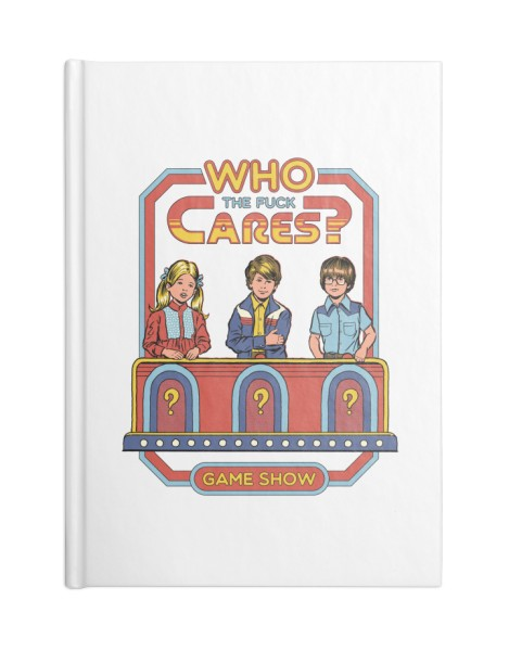 Who Cares? (White Variant) Hero Shot
