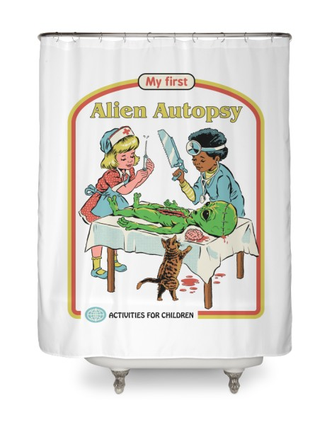 My First Alien Autopsy (White Variant) Hero Shot