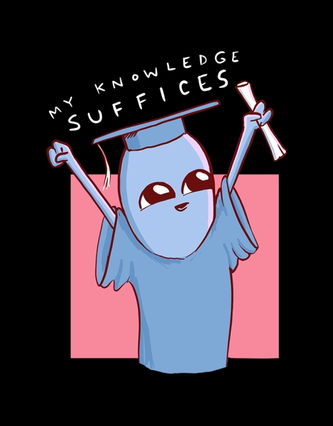 Strange Planet: My Knowledge Suffices Hero Shot