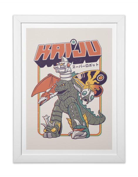 Super Kaiju Robot Hero Shot