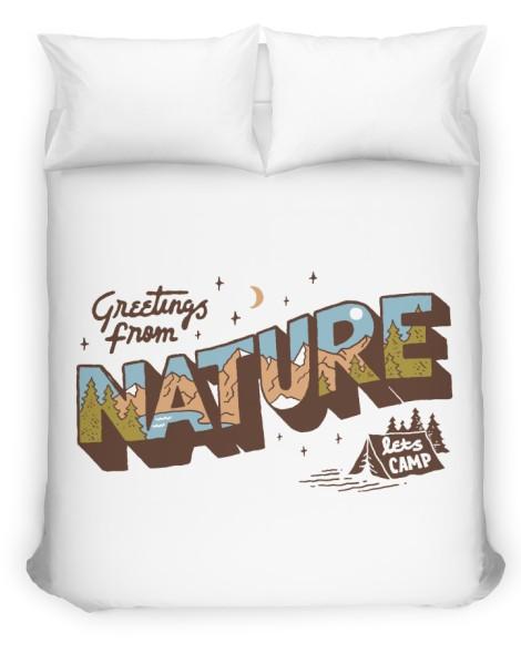 Nature Greetings Hero Shot