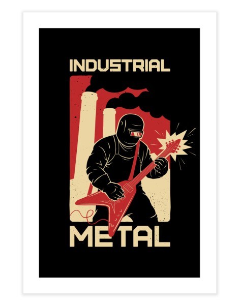 Industrial Metal Hero Shot