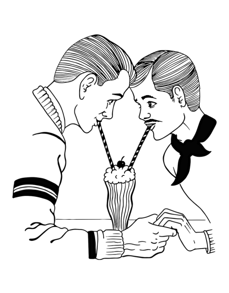Milkshake for two! Hero Shot