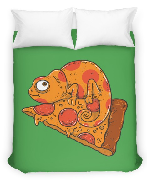 Pizza Chameleon Hero Shot