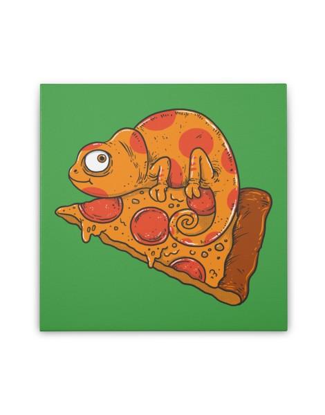 Pizza Chameleon Hero Shot