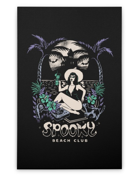 Spooky Beach Hero Shot