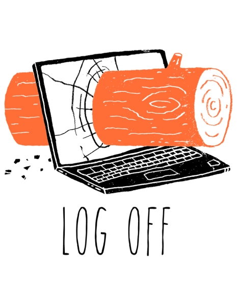 Log Off Hero Shot