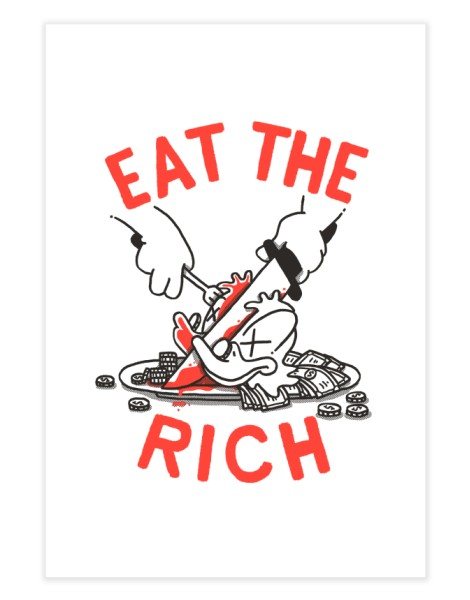 Eat the rich Hero Shot