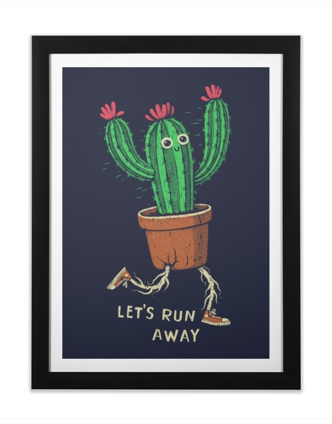 Let's run away Hero Shot