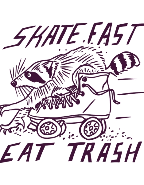 SKATE FAST EAT TRASH Hero Shot