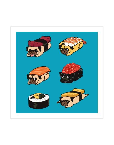 Pug Sushi Hero Shot