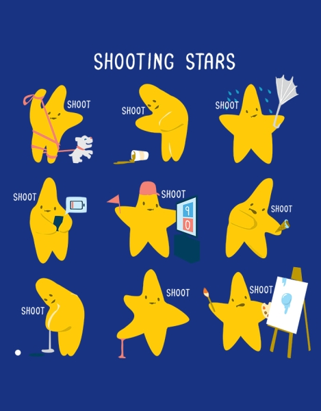 Shooting Stars! Hero Shot