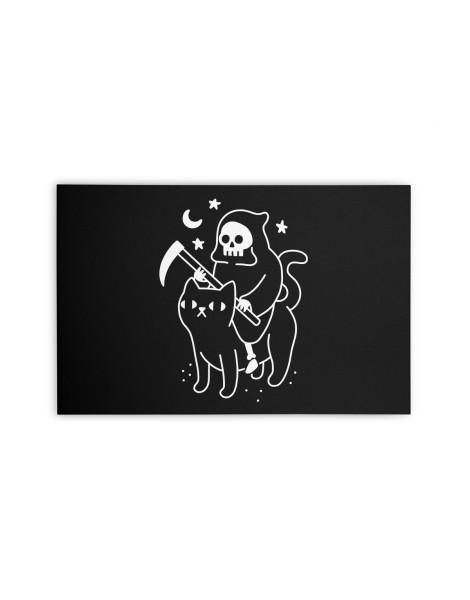 Death Rides A Black Cat Hero Shot