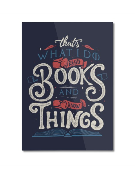 That's what i do i read books and i know things Hero Shot
