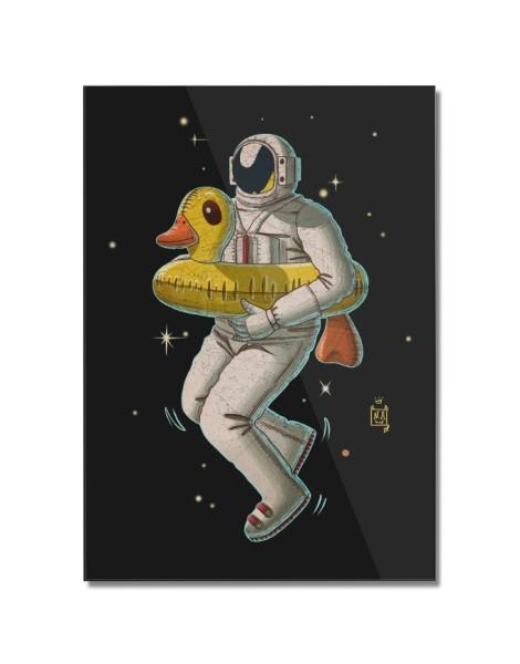 Space swimming Hero Shot