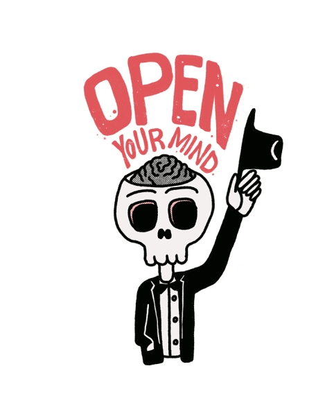 Open Your Mind Hero Shot