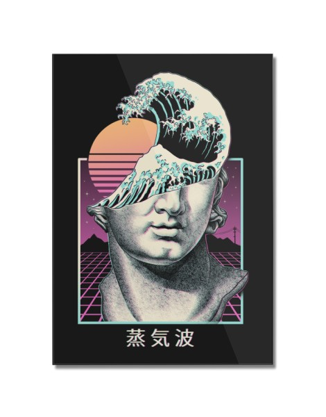 Great Vaporwave Hero Shot