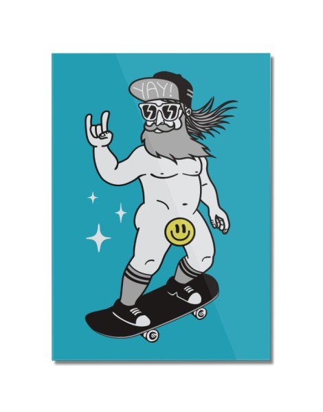 Censored Skater Hero Shot