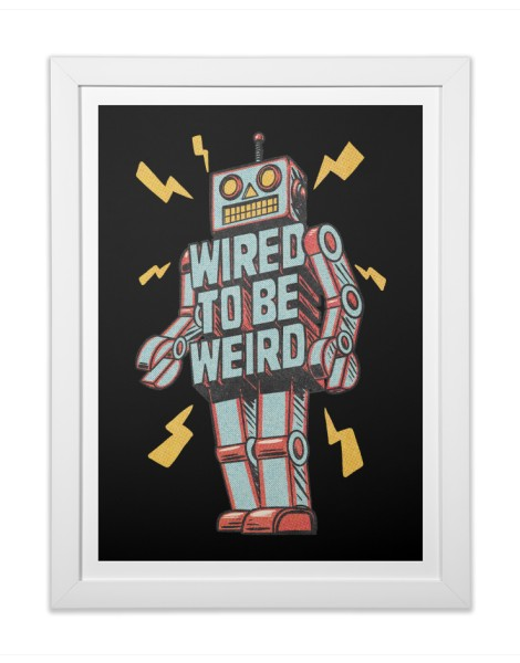 Wired to be Weird Hero Shot