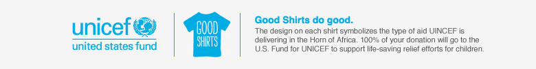 Unicef: Good Shirts do good