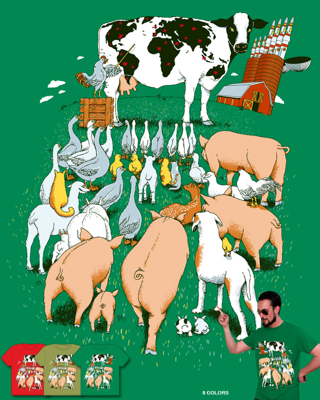 Farm's secret plan by alvarejo on Threadless