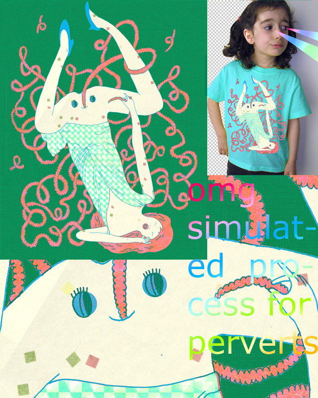 cotton candy snake by ginetteginette on Threadless