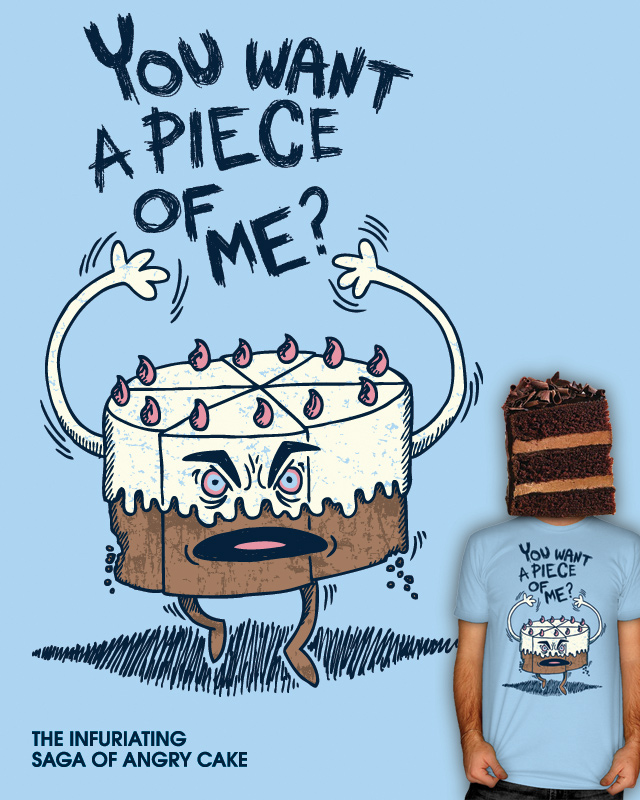 The Infuriating Saga of Angry Cake