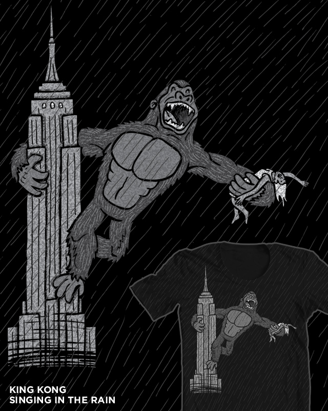 King Kong Singing In The Rain
