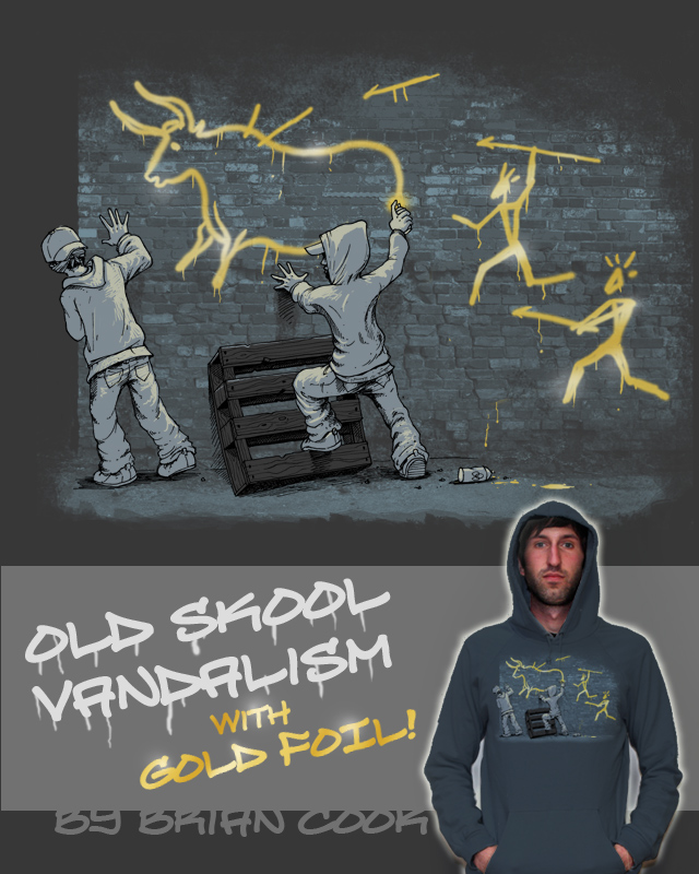 Old Skool Vandalism by briancook on Threadless