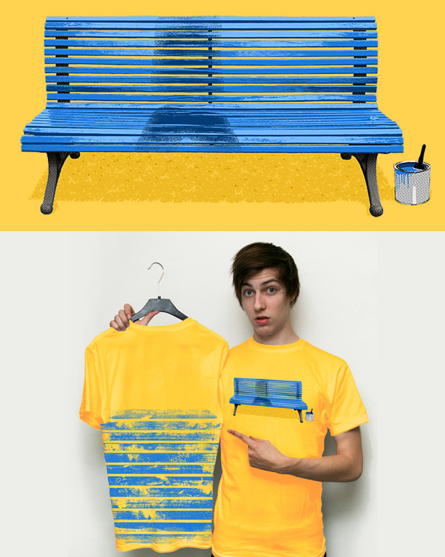 wet paint prank by Andreas Mohacsy on Threadless