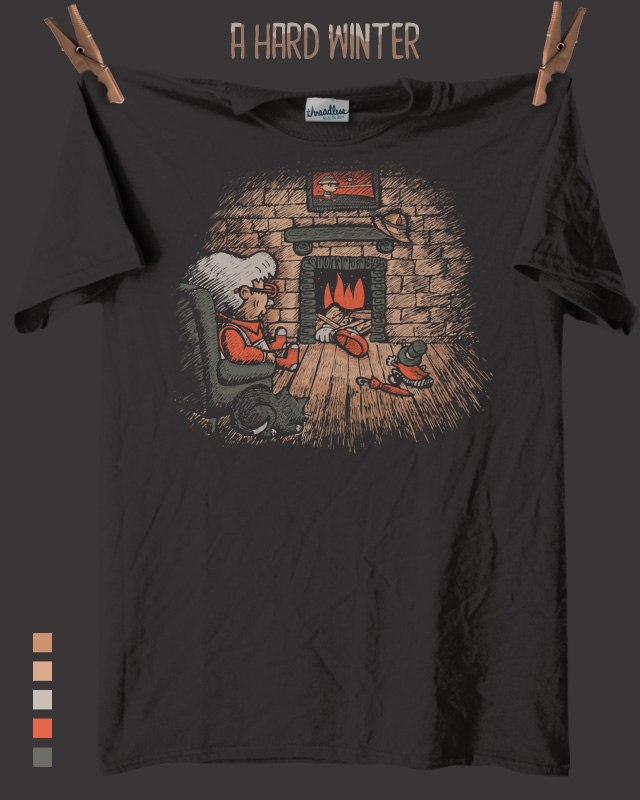 A Hard Winter by walmazan on Threadless