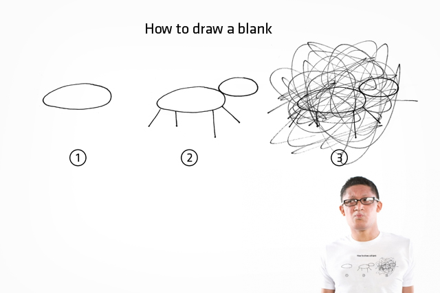 How to draw a blank