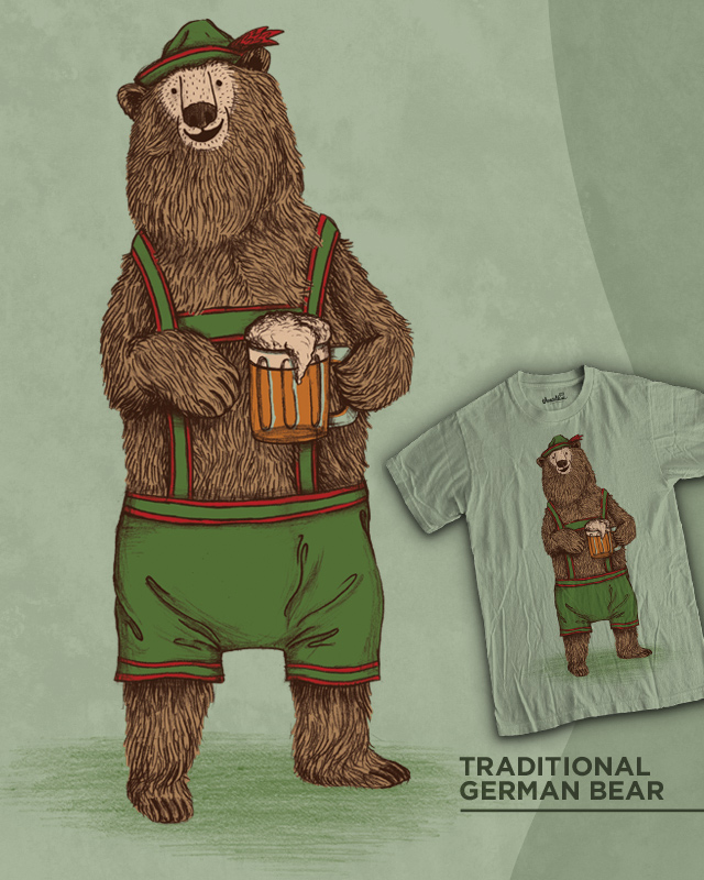 Traditional German Bear